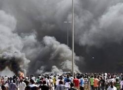 Tức giận vì Tổng thống sẽ tái tranh cử, tòa nhà Quốc hội bị đốt
