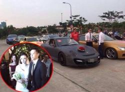 Định giá siêu xe tiền tỷ trong lễ cưới Sao Việt