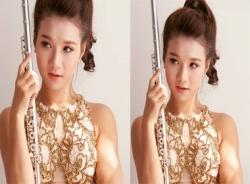 'Hot girl làng giao hưởng Việt' diễn cùng dàn nhạc hoàng gia Anh