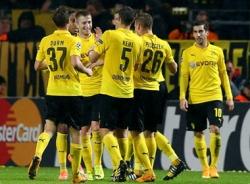 Đè bẹp Galatasaray 4-1, Dortmund giành vào vòng 1/8