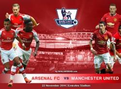 00h30 ngày 23/11, Arsenal vs M.U: Đến lúc Quỷ hiện hình!