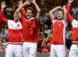 Federer 'lên đồng', Thụy Sỹ vô địch Davis Cup