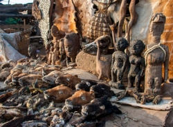 Khu chợ 'phù thủy' độc nhất vô nhị trên thế giới