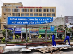 Hình ảnh cuối cùng về nơi kết nối xe buýt đầu tiên ở Hà Nội