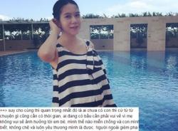 Vợ Lý Hải viết tâm thư trước cơn 'bão' bị gièm pha khi mang bầu