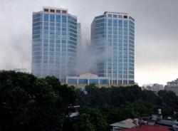 Thực hư tin Vincom Bà Triệu cháy, bốc khói nghi ngút