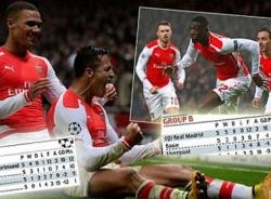 Cục diện 8 bảng đấu Champions League sau lượt 5