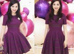 Hoa Hậu Giáng My lại khiến fan đứng hình vì váy áo trẻ trung