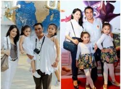 Thời trang gia đình đồng bộ của sao Việt