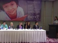 Tổ chức Phẫu thuật nụ cười chung tay cùng Microsoft giúp trẻ em thiếu may mắn