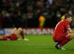 Liverpool tiếc nuối ngậm ngùi rời Champions League