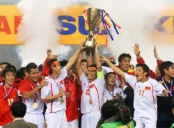 Nhớ lại giây phút đăng quang của tuyển Việt Nam tại AFF Cup 2008