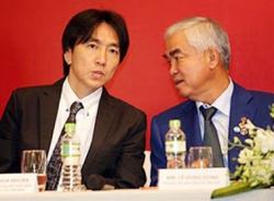 Lãnh đạo VFF và HLV trưởng Miura sơ bộ thống nhất kế hoạch năm 2015 của các đội tuyển