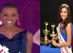 Clip 'Bóng ma' HH Honduras xuất hiện trong đêm Chung kết Miss World 2014