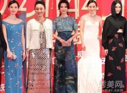 Mỹ nhân Hoa Ngữ khoe sắc tại Liên hoan phim truyền hình Trung Quốc 2014