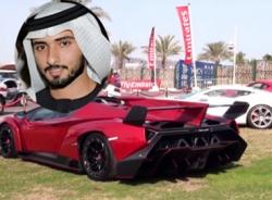 Ngắm dàn siêu xe 'khủng' của Hoàng thái tử Dubai