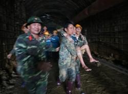 Cập nhật tin cứu hộ sập hầm thuỷ điện: Tất cả nạn nhân sập hầm đã được đưa đến bệnh viện Lâm Đồng