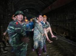 Những hình ảnh khó quên nhất trong vụ Sập hầm thuỷ điện Đạ Dâng