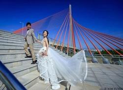 Ảnh cưới đẹp 'ngây ngất' của Nhật Kim Anh