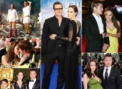 Hành trình 10 năm tình yêu của Brad Pitt và Angelina Jolie qua ảnh (Phần 2)