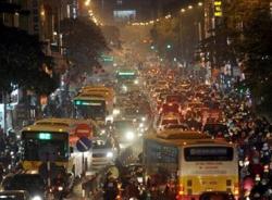 Không khí đêm Noel 2014 tại thủ đô Hà Nội