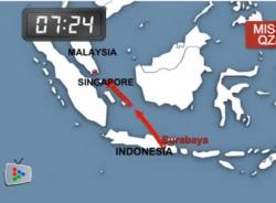 Video mô phỏng đường bay của QZ8501