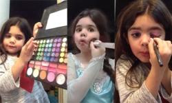 Tuyệt chiêu make up như thiên thần của cô bé 5 tuổi