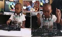 DJ nhỏ tuổi nhất thế giới chơi nhạc điêu luyện