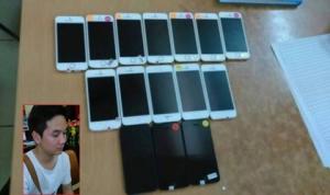 Thanh niên mang hàng chục iPhone lậu 'đụng' ngay 141