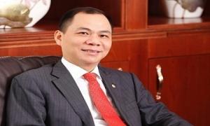 Ông Phạm Nhật Vượng mất vị trí giàu nhất sàn chứng khoán Việt Nam