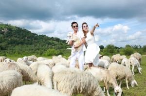Diễn viên Thiên Bảo tung ảnh cưới lãng mạn như 'ngôn tình'