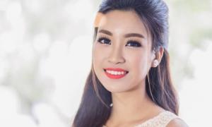 Hoa hậu Đỗ Mỹ Linh đẹp say lòng người với nụ cười 'tỏa nắng'