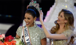 Lộ diện Tân Hoa hậu Venezuela 2016