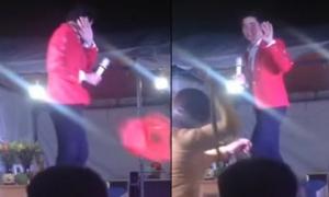 'Bầu sô' Nguyễn Huy chửi mắng ca sĩ Lưu Chí Vỹ chính thức lên tiếng