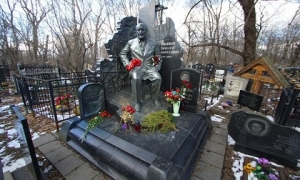 Ảnh hiếm về mộ tinh xảo và tối mật của các trùm mafia Nga