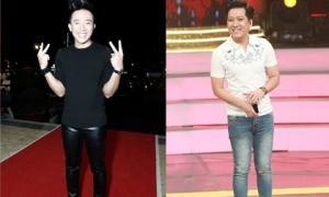 Phải chăng Trấn Thành, Trường Giang 'mượn' quần của vợ, bạn gái?