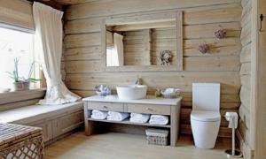 Những nhà tắm bằng gỗ chỉ liếc mắt trông qua cũng đủ khiến bạn xao xuyến