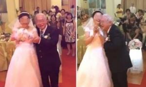 Cặp đôi cô dâu, chú rể phiên bản 'Hoàng Kiều - Ngọc Trinh' khiến cư dân mạng ngỡ ngàng