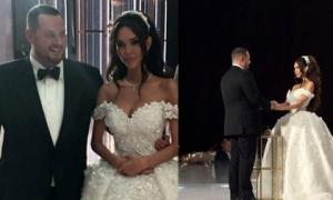 Đại gia khét tiếng kết hôn cùng người mẫu nóng bỏng, nhẫn cưới có giá hơn 200 tỷ đồng