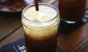 Trà sữa dừa kiểu Thái thức uống mát lạnh mới lạ cho mùa hè