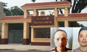 Vụ 2 tử tù bỏ trốn: Hàng loạt cán bộ trại giam bị tạm đình chỉ