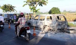 Vụ con gái thuê đốt xe ô tô chở cha: Cấu thành tội giết người?