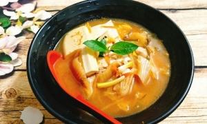 Cách nấu canh kim chi đậu phụ thơm nồng, nóng hổi vừa thổi vừa ăn