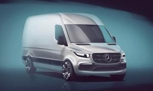 Mercedes Sprinter 2018 sẽ là xe van hiện đại nhất thế giới