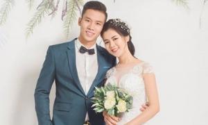 Ảnh cưới tuyệt đẹp của Quế Ngọc Hải và bạn gái Thùy Phương
