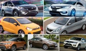 10 mẫu ô tô 'ế' nhất Việt Nam tháng 11/2017