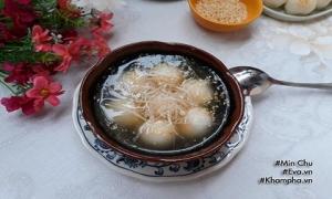 Tự làm bánh trôi, bánh chay kiểu truyền thống cho Tết Hàn thực