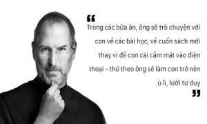 Cha đẻ của iPhone - Steve Jobs và cách dạy con tránh xa công nghệ gây tranh cãi
