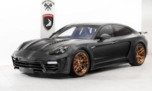 Gói độ carbon giá 900 triệu đồng cho Porsche Panamera Turbo 2017