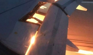 Máy bay chở đội Saudi Arabia bốc cháy: Suýt có đại thảm họa World Cup 2018